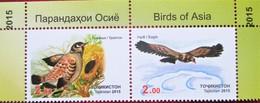Tajikistan  2015   Birds Of Asia   2v  MNH - Oiseaux