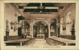 76 MESNIL RAOUL / Interieur De L'Eglise / - Autres Communes