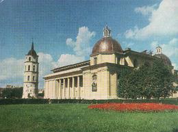 Lithuania, Vilnius, Gemäldegalerie-ehem. Kathedrale Mit Dem Glokkenturm, Unused 1978 - Litauen