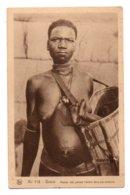 Burkina Faso 036, Gaoua, Nels No 118, Mman Lobi Portant L'enfant, Scarification Nue - Burkina Faso