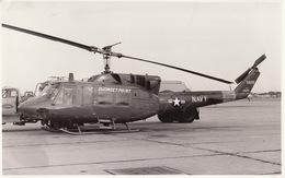 Photo Format CP Helicoptère Bell HH-H1 - Aviación