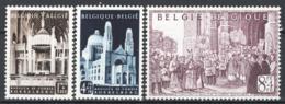 Belgio 1952 Unif.876/78 **/MNH VF - Belgium