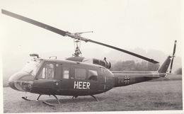 Photo Format CP Helicoptère Bell Dornier UH-1D - Aviación