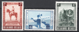 Belgio 1954 Unif.938/40 **/MNH VF - Belgium