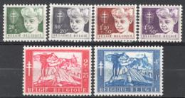 Belgio 1954 Unif.955/60 **/MNH VF - Belgium