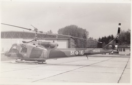 Photo Format CP Helicoptère Agusta Bell AB-204 B - Aviación