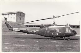 Photo Format CP Helicoptère Agusta Bell UH-1H - Aviación