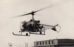 Photo Format CP Helicoptère Bell 47 D - Aviación