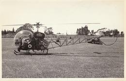 Photo Format CP Helicoptère Bell 47 - Aviación