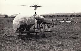 Photo Format CP Helicoptère Bell 47 G-2 - Aviación