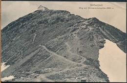 °°° 17167 - PASSO DELLO STELVIO - STILFSERJOCH - WEG ZUR DREISPRACHENSPITZE °°° - Italia