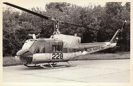 Photo Format CP Helicoptère Agusta Bell AB-204B - Aviación