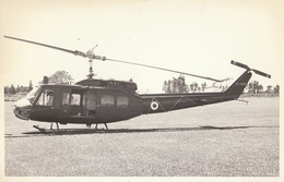 Photo Format CP Helicoptère Agusta Bell UH-1D - Aviación