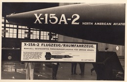 Photo CP Avion X-15 A-2 à Melsbroek - Aviación