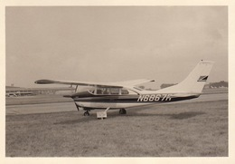 Photo Avion Cessna 210 En 1967 - Aviación