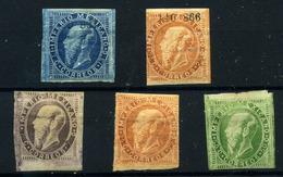 México Nº 29/30, 28c, 30/31c. Año 1866/67. - Mexico
