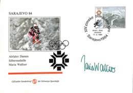 [902908]TB//-Yougoslavie 1984 - SARAJEVO, Abfahrt Herren, Maria Walliser, Sports, Ski, Jeux Olympiques - Other