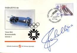 [902911]TB//-Yougoslavie 1984 - SARAJEVO, Sports, Bobsleigh, Jeux Olympiques - Other
