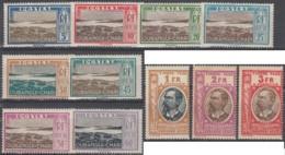Oubangui-Chari - Timbres-taxe N° 12 à 22 (YT) N° 12 à 22 Neufs *. - Oubangui (1915-1936)