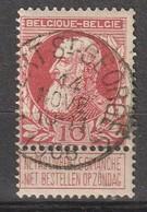 COB N° 74 - Oblitération WEERT-ST-GEORGES 1906 - 1905 Grove Baard