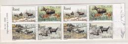 Aland 2000, Booklet Reindeers, Miheft 8, MNH. Cv 7,50 Euro - Aland