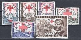 BELGIE: COB 1096/1101 Mooi Gestempeld. - Used Stamps