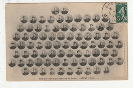 BREST - MUSIQUE DES EQUIPAGES DE LA FLOTTE (1909) - 29 - Brest