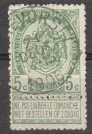 COB N° 56 - Oblitération RYCKEVORSEL 1906 - 1893-1800 Fijne Baard
