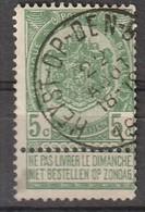 COB N° 56 - Oblitération HEYST OP DEN BERG - 1893-1800 Fijne Baard