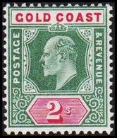 1902. GOLD COAST. Edward VII. 2 S.  (MICHEL 41) - JF319212 - Costa D'Oro (...-1957)