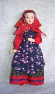 Porcelain Doll In Cloth Dress - Penza  - City Province - Russian Federation - Dolls