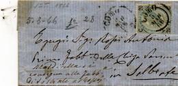 CG4 - Italia - Lettera Da Como Del 5/3/1866 Per Solbiate - Other
