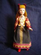 Porcelain Doll In Cloth Dress - Smolensk-city Province - Russian Federation - Dolls
