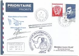YT 391 Mario Marret - Posté à Bord De L'Astrolabe - Hélicoptère - Dumont D'Urville - Terre Adélie - 27/02/2004 - Terre Australi E Antartiche Francesi (TAAF)