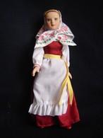 Porcelain Doll In Cloth Dress Vologda City Province -  Russian Federation - Dolls
