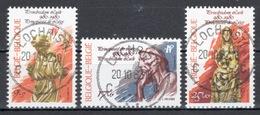 BELGIE: COB 1987/1989 Mooi Gestempeld. - Gebraucht