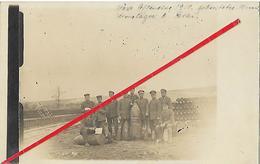 Bray Sur Somme Carte Allemande 1918 - Autres Communes