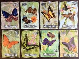 Malaysia 1970 Butterflies Set MNH - Schmetterlinge