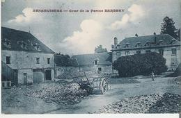 SENNEVIERES. CP Cour De La Ferme Barbery - France