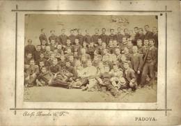 """6396 """" FOTO DI GRUPPO DI SOLDATI CON BANDA MUSICALE-PRIMA GUERRA MONDIALE """" FOTO ORIGINALE - Guerre, Militaire"""
