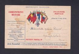 Guerre 14-18 Carte Correspondance Militaire Illustrée à La Main Voeux 1916 Famille Thiriot Commercy Nancois Sur Ornain - Guerre 1914-18