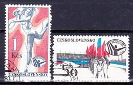 Tchécoslovaquie 1980 Mi 2571-2 (Yv 2398-9), Obliteré - Tsjechoslowakije