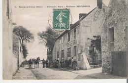 SENNEVIERES. CP Grande Rue Maison Mancier - France