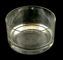 Nagy Méretű, Egyenes Falú üvegtál  D:  23 Cm Hibátlan - Verre & Cristal