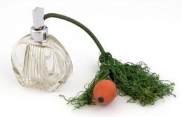 Régi, üveg Parfűmszóró, Minimális Csorbával M: 13 Cm - Verre & Cristal