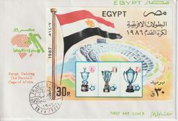 Egypte 1987 FDC Football BF 43 - Égypte