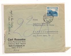 1946 ENVELOPPE AVEC CENSURE DE BERLIN   POUR BORDEAUX - Marcophilie (Lettres)