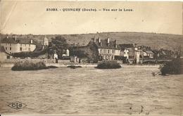 Quingey Vue Sur La Loue - France