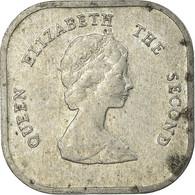 Monnaie, Etats Des Caraibes Orientales, Elizabeth II, 2 Cents, 1986, TB+ - East Caribbean States