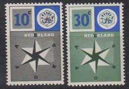 Europa Cept 1957 Netherlands 2v Mh (= Mint, Hinged) (45901C) - Europa-CEPT